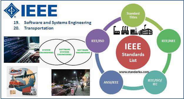 Daftar Standar IEEE Software and Systems Engineering, Transportation